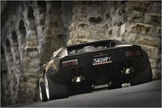 DeTomaso Pantera GT4 - One of my old bosses had a Pantera... basic, but damn that V8 sounded awesome!