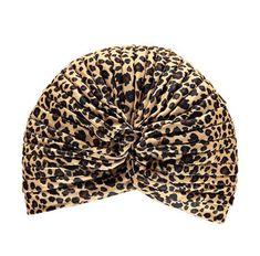 Women Leopard Cheetah Animal Print  Turban  Hat by Craftasy on Etsy Cheetah  Animal 1514f0bbfd1d