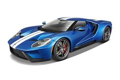 Maisto Exclusive Edition 2017 Ford GT Diecast Vehicle (1:18 Scale) - Diecast Model Cars