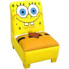 Bon Nickelodeon+SpongeBob+SquarePants+Toddler+Armless+Chair Nickelodeon  Spongebob, Toddler Furniture
