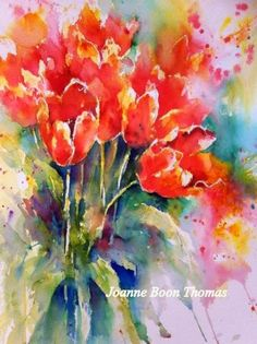 Tulips by Joanne Thomas