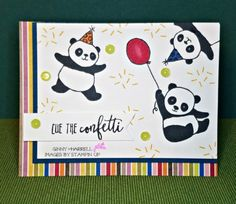 Party Pandas by Stampin' Up. FMS #316