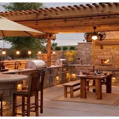 Cool pergola/deck space