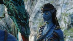 Neytiri with her Banshee