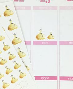 24 Gold Glitter Dress Stickers – Perfect for Erin Condren, Plum Paper Planner, Inkwell Press, Filofax, Scrapbooking & More