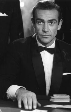 Sean Connery - James Bond - Dr. No - 1962.  the best James Bond in my estimation