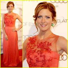 Brittany Snow with red hair!  Want this hair color...maybe post-baby...