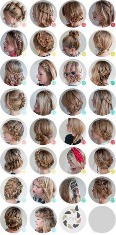 30 kiểu tóc tết đẹp