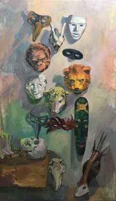 Paula Rego Art, Masks Art, Creepy Art, Art Tutorials, Art Inspo, Art History, Vintage Art, Art Reference, Cool Art