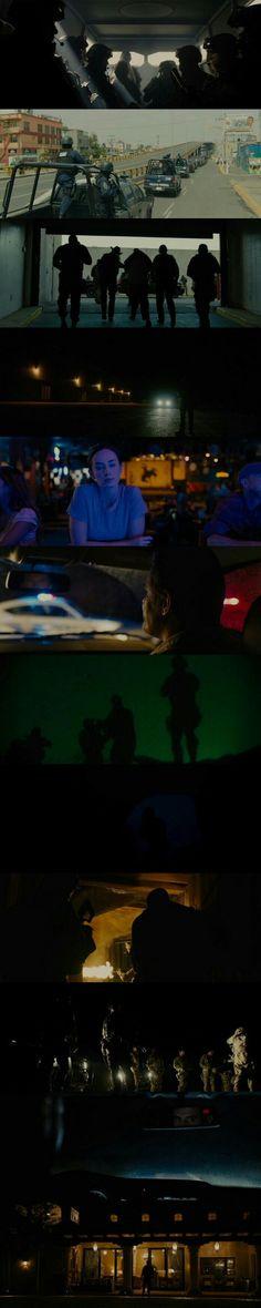 Sicario (2015) Director: Denis Villeneuve. Photography: Roger Deakins.