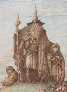 Who Are Most Powerful Wizards in Literature? - Toptenz.net Gandalf, Lotr, Midle Earth, Character Art, Character Design, John Howe, Movie Poster Art, Jrr Tolkien, Lord Of The Rings