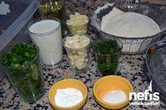 Ispanaklı Tuzlu Kek Tarifi (videolu) – Nefis Yemek Tarifleri Palak Paneer, Pudding, Ethnic Recipes, Desserts, Food, Tailgate Desserts, Deserts, Eten, Puddings