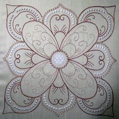 candlewicking quilt patterns | KennyKreations Machine Embroidery: , Quilts
