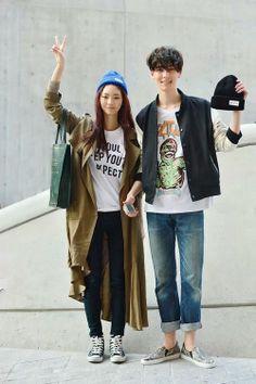 Seoul Fashion Week - Couple Style