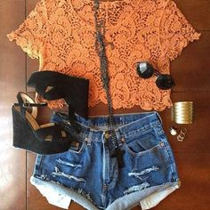 Lace is a key component of any outfit