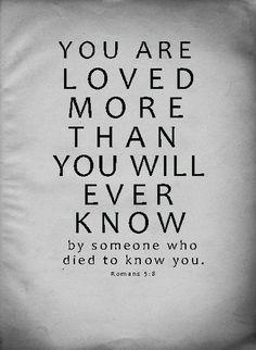 loved Romans 5:8