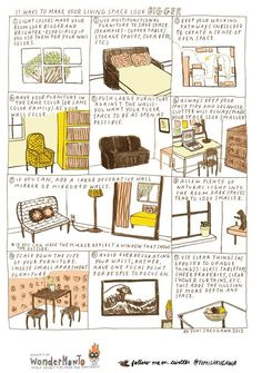 11 Ways to Make Your Living Space Look Bigger