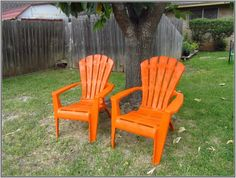 So Wonderfully Complex: Painting Plastic Outdoor Chairs Adirondack Chairs For Sale, Plastic Adirondack Chairs, Outdoor Chairs, Outdoor Furniture, Outdoor Decor, Office Furniture, Furniture Design, Cheap Modern Furniture, Chair Design Wooden