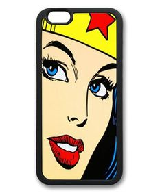 Wonder Woman iPhone 6 Case TPU Material Black