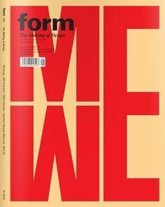 Form magazine — Designspiration
