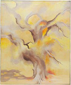 Georgia O'Keeffe, A Memory Late Autumn, 1954, Harvard Art Museums/Fogg Museum.