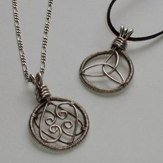 For Love - His and Hers pendants