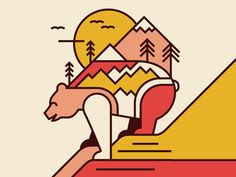Nature Calls by Pavlov Visuals - Dribbble