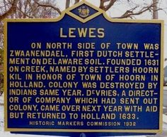 Lewes Marker. Click for full size.