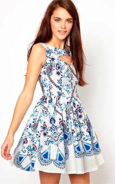 vestidos corto primavera verano - Buscar con Google
