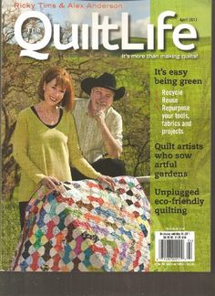 The Quilt Life Magazine (It's easy being green « Library User Group
