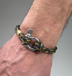 Bracelet en paracorde dans Army Green  Bracelet de par ZEcollection
