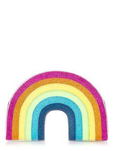 Skinnydip London Glitter Rainbow Cross Body Bag