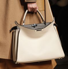 7372b3fc5346 Fendi Debuts New Logo Hardware and Tons of New Bags for Fall 2017 - PurseBlog  Bags