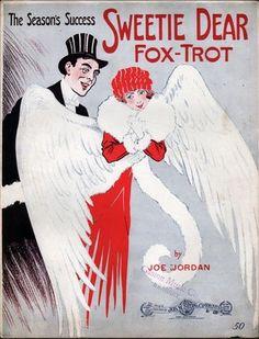 1914 Sweetie Dear Fox Trot Piano Solo Joe Jordan Black Ragtime Composer Art Deco | eBay
