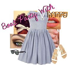 """Boat party with harry"" by jessie-horan ❤ liked on Polyvore"