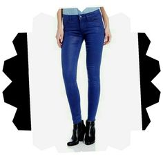 BUFFALO DAVID BITTON SKINNY JEANS 30X30 BNWT Gorgeous David Bitton Skinny jeans in Cobalt Wax....Gorgeous Shiny deep blue! 30x30! !! Jean's are new with tags!!! Have been folded in my closet and have a crease on the backside....look at pic...Also have an imperfection on side of leg. Just noticed this as I was listing so they were like this when purchased. Retail price is 108.00. Buffalo Jeans Skinny