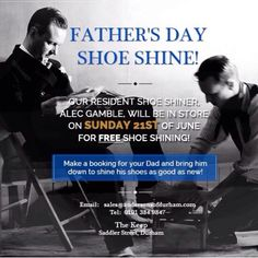 Bookings being taken now at The Keep, perfect gift for Father's Day!
