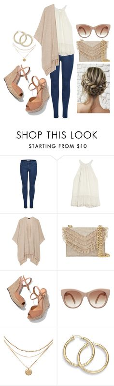 """halter top"" by artgazzm ❤ liked on Polyvore featuring OTTE, The Row, Cynthia Rowley and Schutz"