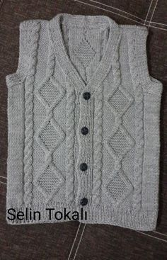 (notitle) The Effective Pictures We Offer You About arm knitting A quality picture can tell you many things. Ladies Cardigan Knitting Patterns, Beginner Knitting Patterns, Knitting For Kids, Knitting For Beginners, Crochet For Kids, Knit Patterns, Crochet Baby, Baby Boy Vest, Baby Boys