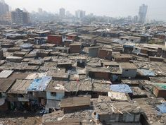 The rooftops of Dharavi - The rooftops of an urban Indian slum. (Mumbai, India)