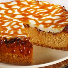 Pumpkin Toffee Cheesecake from culinary.net