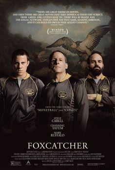 """Foxcatcher"". Tatum's blandness and gorilla-like presence work to his advantage in this quiet, bleak film"