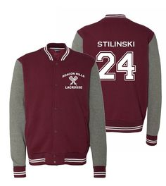 Beacon Hills Stilinski Varsity Sweatshirt by ElmStreetStudio
