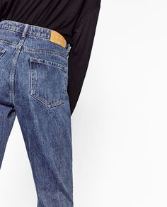 MOM FIT JEANS-View all-JEANS-WOMAN | ZARA Bulgaria