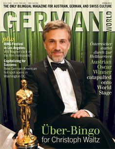 German World Cover Christoph Waltz    where can I get a copy of this?