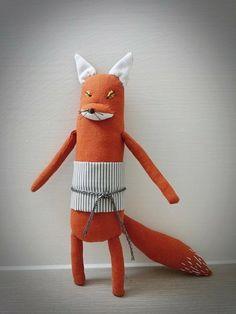 偷吃魚的狐狸! - arisa doll | Pinkoi