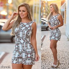 Rompers shorts fashion casual 3 en 2019 piękne kobiety, moda y moda damska. Skirt Outfits, Sexy Outfits, Sexy Dresses, Dress Skirt, Cool Outfits, Summer Outfits, Fashion Outfits, Womens Fashion, Fashion Models
