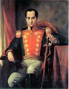 """Nuestro Libertador el gran Simón Bolívar. """"Denme tres Bolívares y conquistaré el mundo"""". Napoleón Bonaparte."""