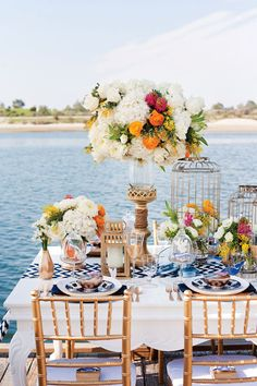 Tabletops: Nautical Glamour - Exquisite Weddings