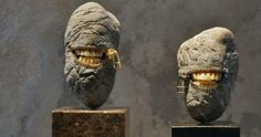 As fantásticas esculturas em pedra de Hirotoshi Itoh.